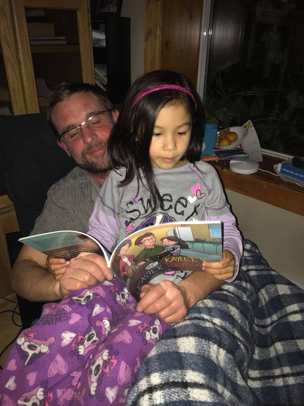 Pon's daughter with John